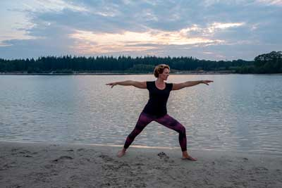 Vinyasa Yoga Flow Zuidlaren warrior 2 pose