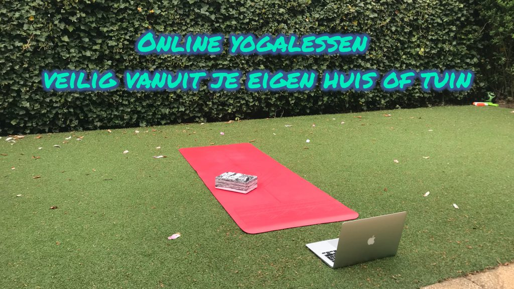 online yoga vanuit je eigen huis of tuin