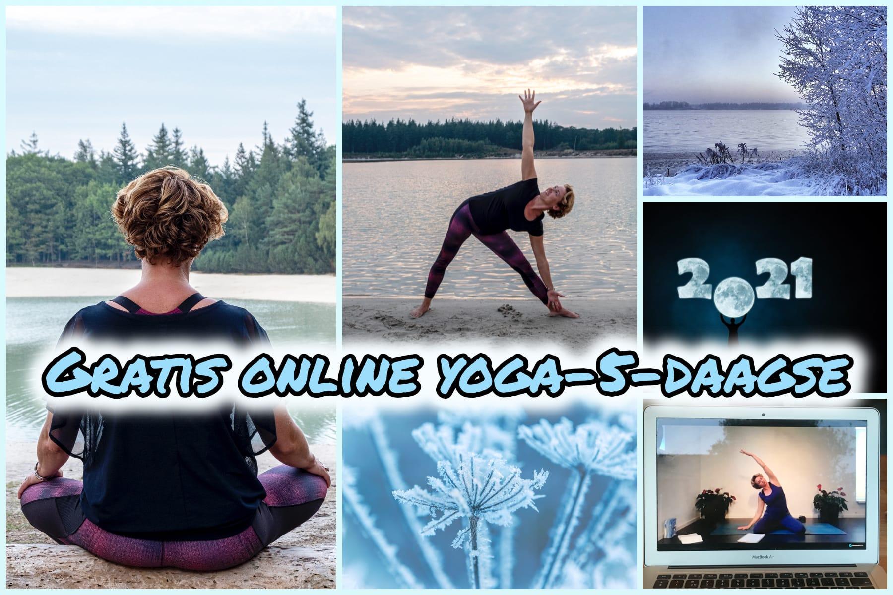 Gratis online yoga challenge, kennismaken met yoga? Volg gratis 5 dagen basis yogalessen