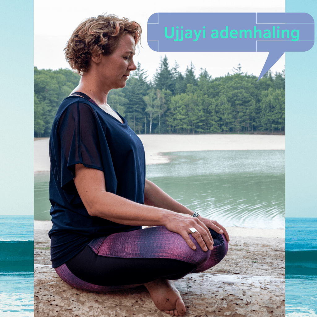 Ujjayi ademhaling, yoga ademhaling, hoe doe je die?