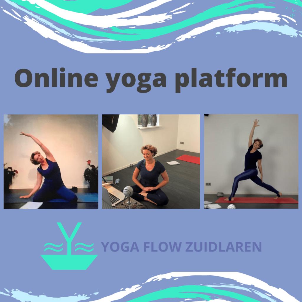 Online yoga platform Yoga Flow Zuidlaren